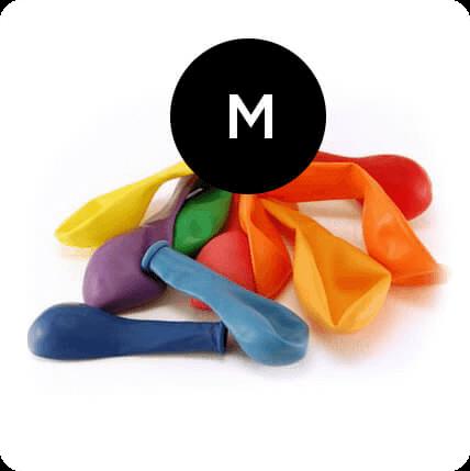 Balões 30 cm 50 peças