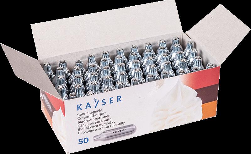 Kayser chantilly óxido nitroso n2o cartuchos carregador de creme de gelo